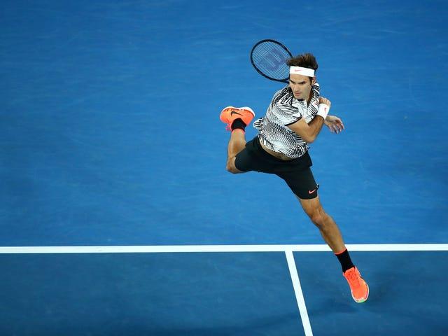 Pak Tua Federer Bertahan Untuk Mencapai Final Terbuka Australia