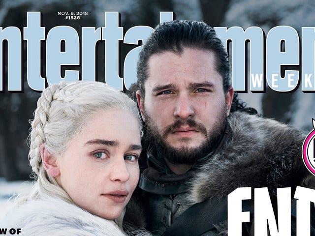 Jon y Daenerys se abrazan en la primera foto oficial de la última temporada de Juego de Tronos