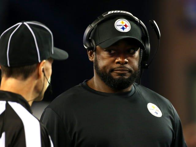 Brandchef siger Pittsburgh NFL-coach Mike Tomlin tilføjede sig selv til 'List of No-Good [N-Words]'