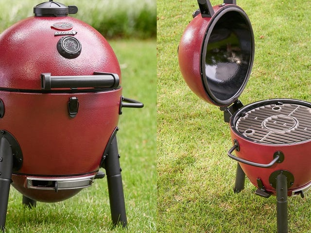 Take a Kamado Grill With You Anywhere For Just $109