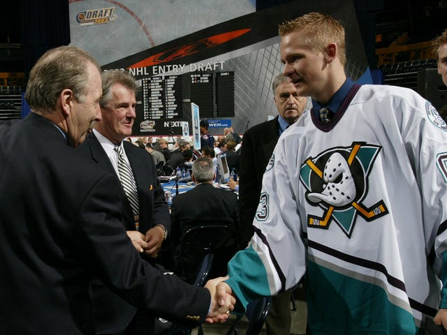 Lovable Asshole Corey Perry's Time With The Ducks Is Over