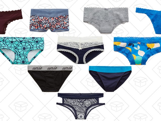 Aerie's Clearance Undies Are Now Just 10-for-$25