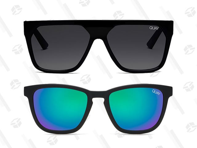 The Sun Will Come Out...Eventually, So Get Two Pairs of Quay Australia Sunglasses For the Price of One