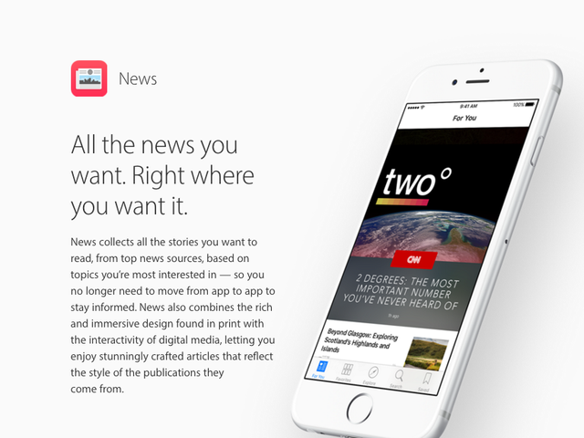 Keeping up Appearances - We're on Apple News!