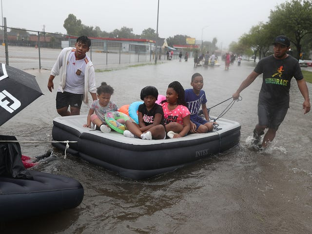 Flooding Left in the Wake of Hurricane Harvey Could Force Some 30,000 People Into Shelters