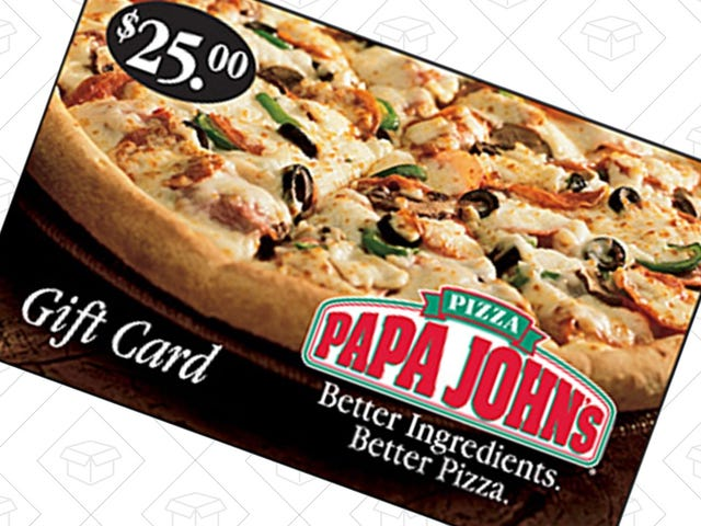 Get $5 Worth of Free Pizza With This Papa John's Gift Card Deal