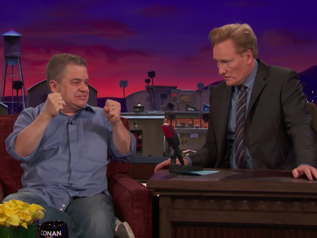 In a dry late-night week, Patton Oswalt and Guy Branum make Conan a comedy oasis