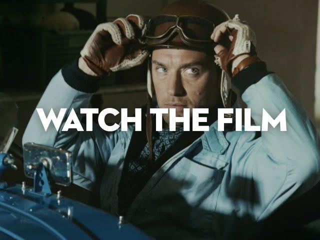 Deze fantastische korte film schittert Jude Law en een Delahaye 135