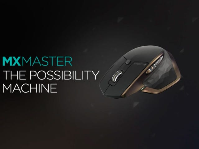 Logitech's Tricked Out MX Master Mouse Is Down to $50