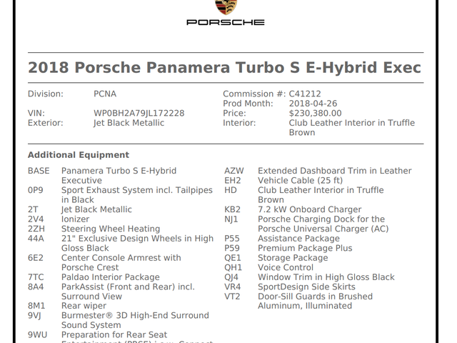 I love Panamera's...but jesus christ they're expensive