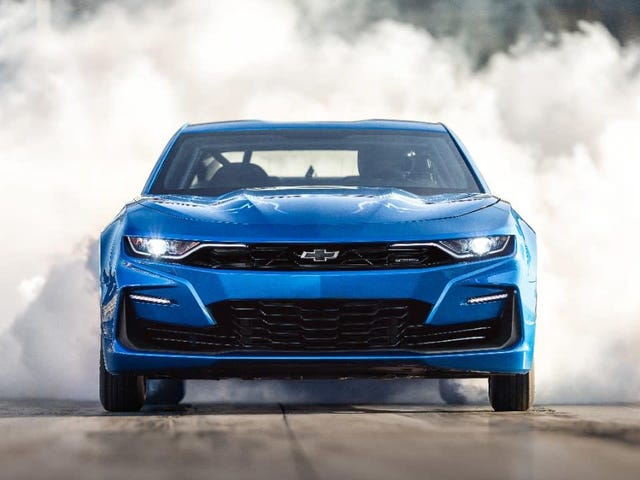 The One-of-A-Kind Chevy eCOPO Camaro går på auktion