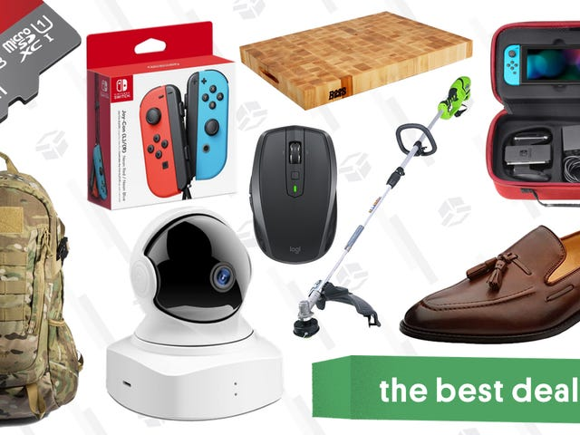 Sunday's Best Deals: Home Security Cameras, Greenworks Tools, Logitech Mouse, and More