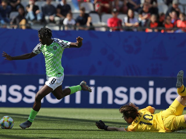 Nigeria's Asisat Oshoala Finally Shows The World Who She Is