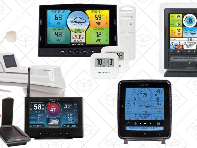 Be Your Own Meteorologist With This One-Day Sale onAcuRite Weather Stations