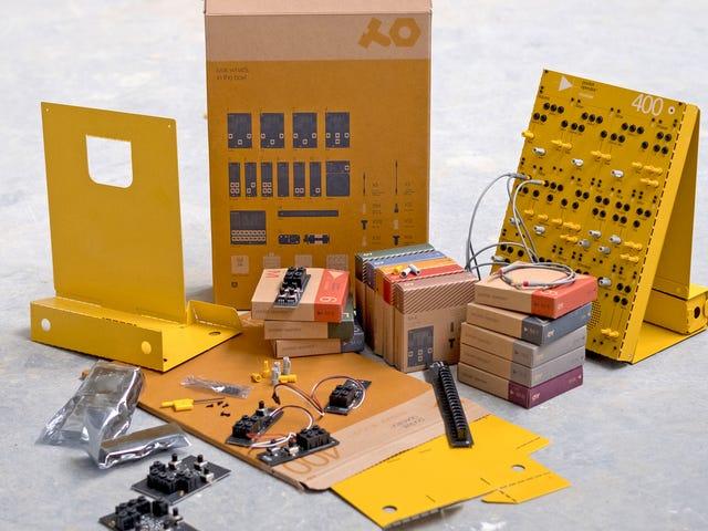 Możesz zbudować analogowe syntezatory, takie jak zabawki z kartonu Nintendo