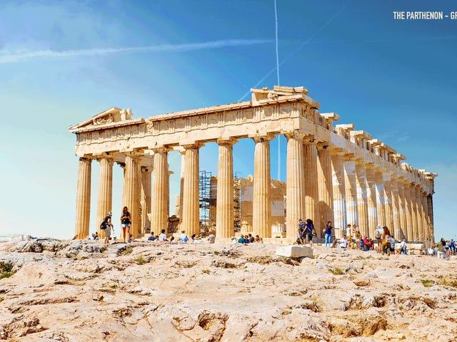 Estas asombrosas animaciones devuelven los monumentos más famosos de la historia a su antigua gloria