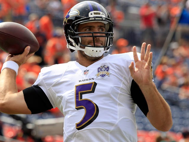 John Elway Will Trade A Pick He Would've Screwed Up Anyway For Joe Flacco