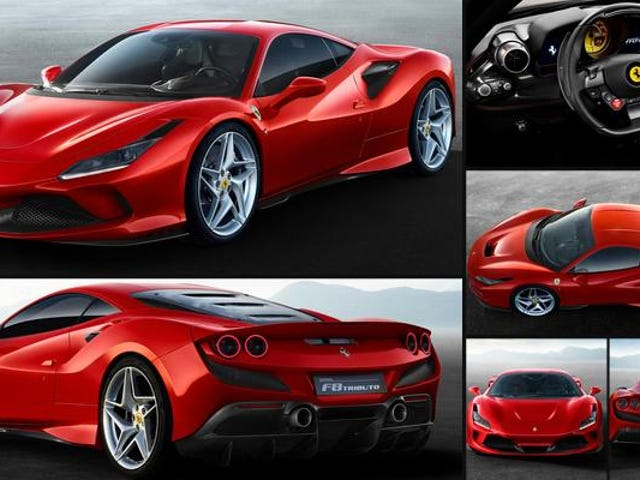 The new Ferrari F8 Tributo