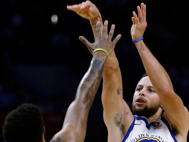 Si Steph Curry ay Nagpunta sa mga Clippers