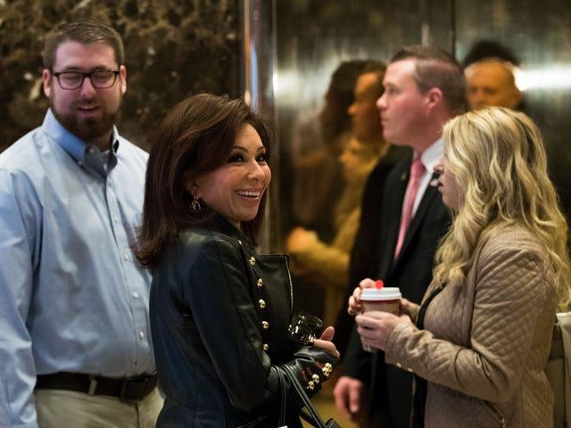 President Trump Tweets forFox News to 'Bring Back' His Bae Jeanine Pirro