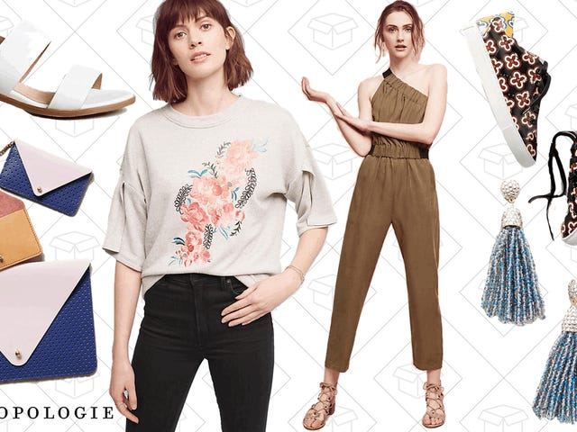 Anthropologie is Marking Down All Their Sale Items an Extra 30% Off