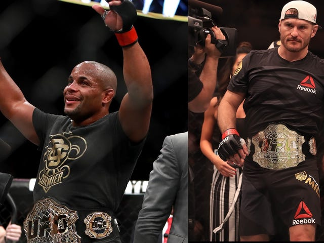 The Very Real Daniel Cormier-Stipe Miocic Heavyweight Superfight Is Going To Rule So Hard