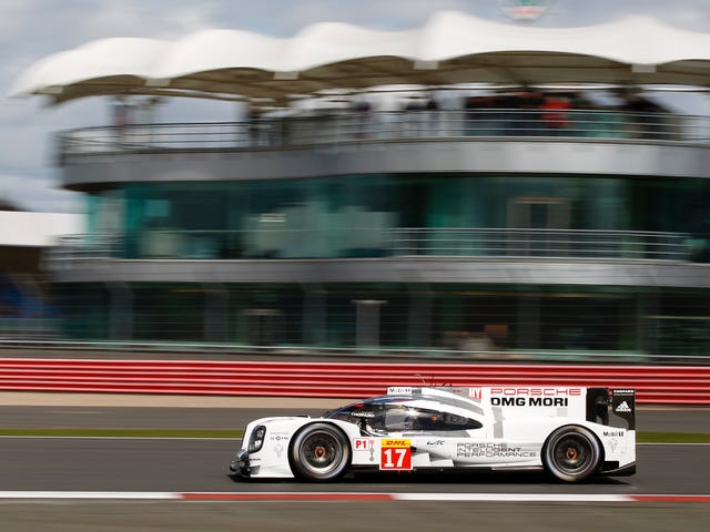 Porsche Gets First World Endurance Championship Pole of 2015