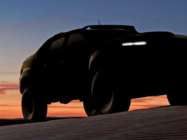 El ejército convertirá un Chevy Colorado en un vehículo todoterreno de hidrógeno y electricidad