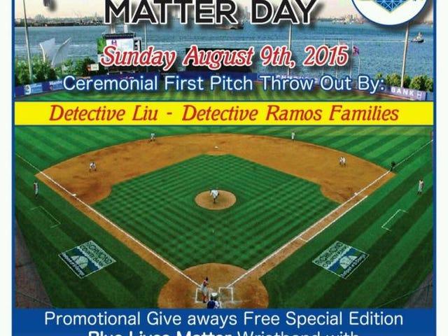 Staten Island Yankees, Michael Brown'ın Ölümünün Yıldönümünde 'Mavi Yaşıyor' Olayını Düzenledi