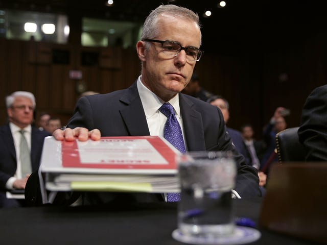 Deputy FBI Director Andrew McCabe Steps Down Because Trump and the GOP Are Bullies: Report