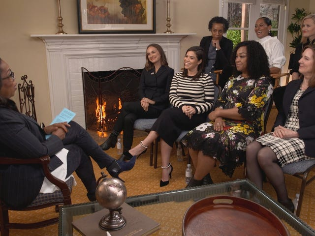 Tracee Ellis Ross, Shonda Rhimes, Reese Witherspoon Discuss Time's Up Movement With Oprah Winfrey
