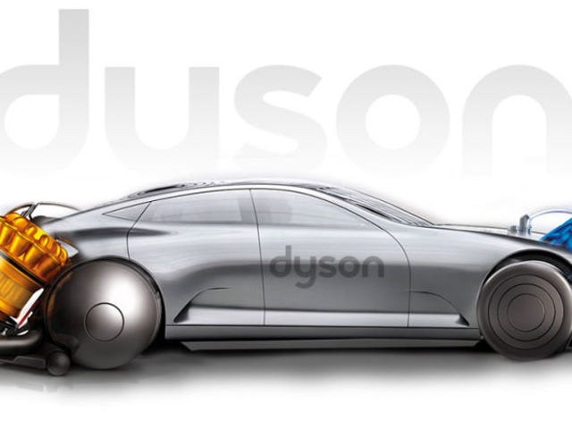 Το έργο ηλεκτρικών αυτοκινήτων του Dyson εγκαταλείφθηκε