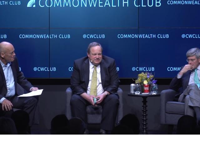 [WONKY POLITICS]: Commonwealth Club and Two Economists