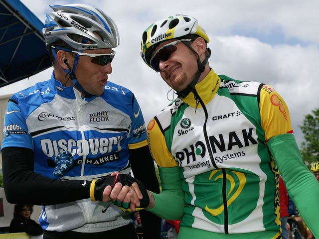 Floyd Landis Is Using Lance Armstrong's Settlement Money To Start A Cycling Team