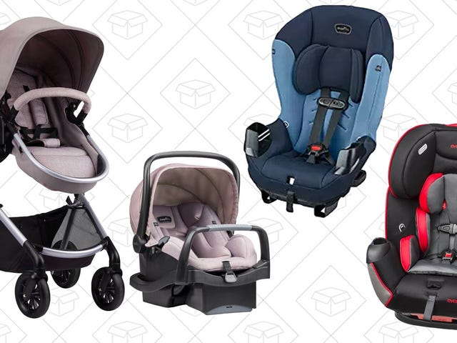 Save A Bundle On Evenflo Car Seats and Strollers Today