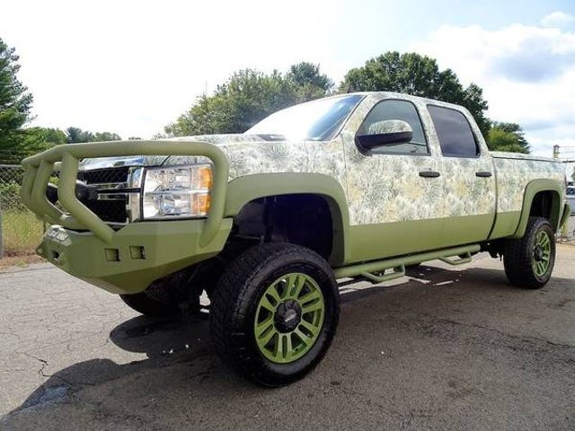 """""""Hey those big truck fellas like hunting and camo right?"""""""