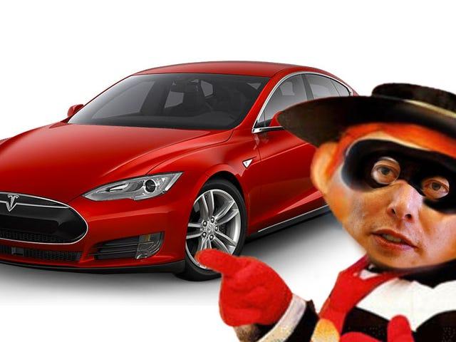 Không, Elon Musk đã không thực sự ăn cắp Tesla của Guy