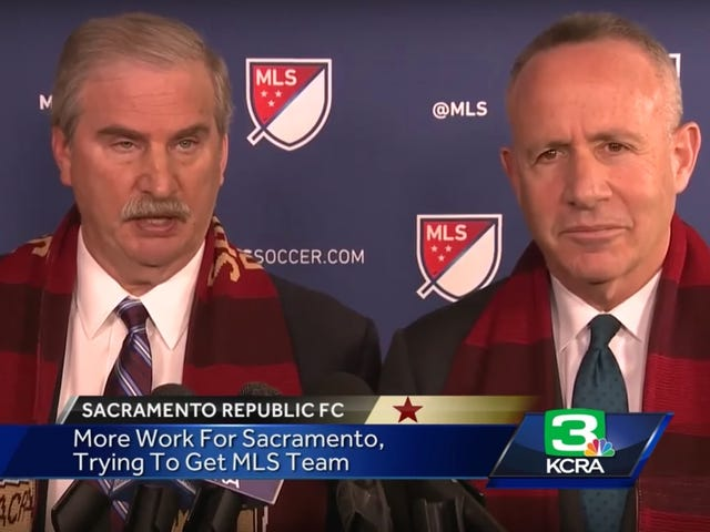 Dumb Column: Sacramento Shouldn't Pay For MLS Stadium, But Maybe Sacramento Could Pay For MLS Stadium