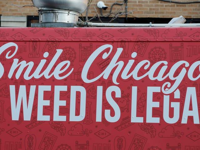 Vendas do primeiro dia para cannabis legal atingem US $ 3,2 milhões em Illinois