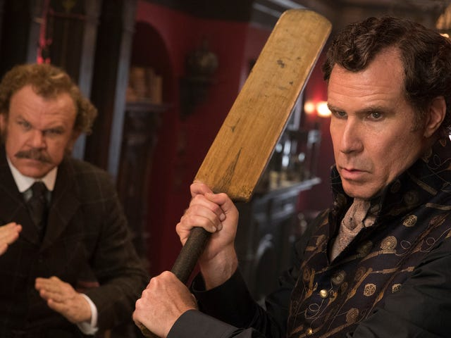 Will Ferrell and John C. Reilly hit career lows in the abysmally unfunny Holmes & Watson
