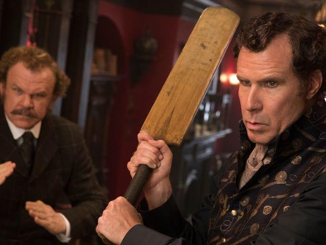 윌렐 (Ferrell)과 존 C. 라일리 (John C. Reilly)는 어리석은 <i>Holmes & Watson</i>