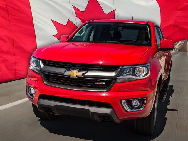 2015 Chevy Colorado allerede på Big Backorder i Canada