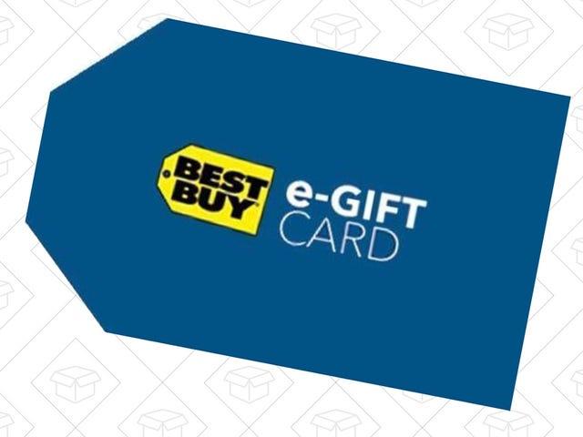 Buy a $150 Best Buy Gift Card, Get a $15 Bonus Code
