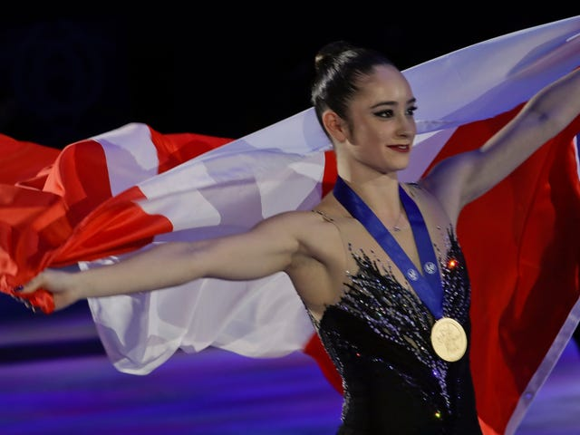 Kaetlyn Osmond Becomes First Canadian Ladies Figure Skating World Champion Since 1973