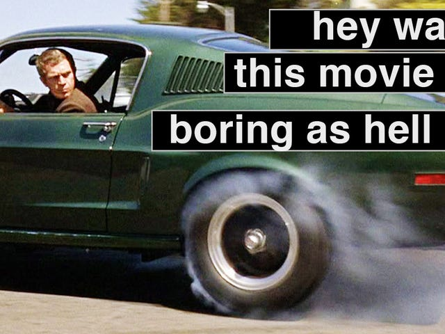Reminder: Bullitt Wasn't A Great Movie