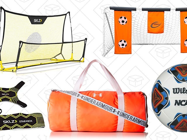 Score With Up To 25% Off Soccer Gear In This One-Day Sale