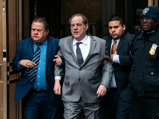 Lo stupratore accusato Harvey Weinstein pensa che tornerà