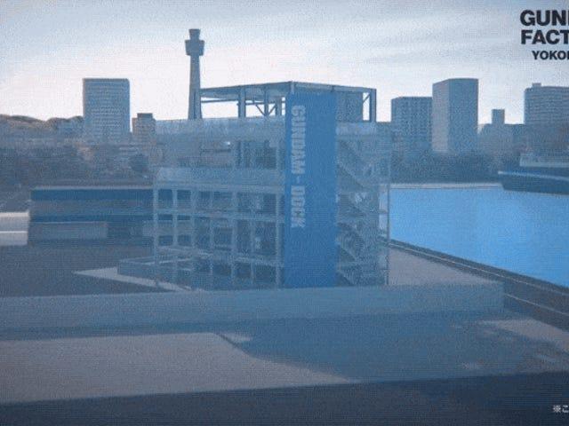 Seuraava jättiläinen Gundam -patsas on tulossa Yokohamaan