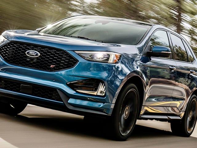 2019 Ford Edge ST: Så dette sker