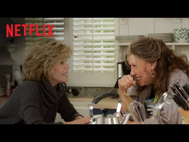 Jane Fonda and Lily Tomlin's Husbands Come Out inGrace & Frankie